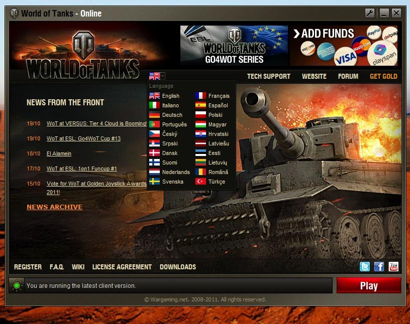 Obraz dołączony do pytania Jak pobrac world of tanks