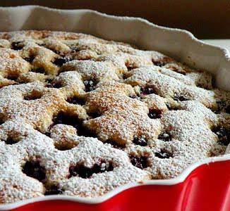 Jak zrobić ciasto z jeżynami