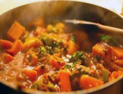 Jak przyrządzić warzywa curry
