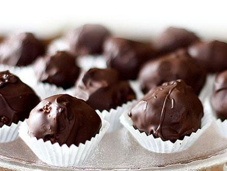 Jak zrobić praliny czekoladowe