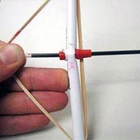 Jak zrobić łuk z długopisu