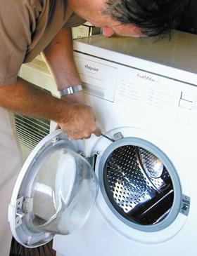 Jak konserwować pralki