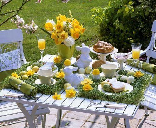Jak udekorować stół na święta wielkanocne