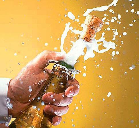 Jak otworzyć szampana