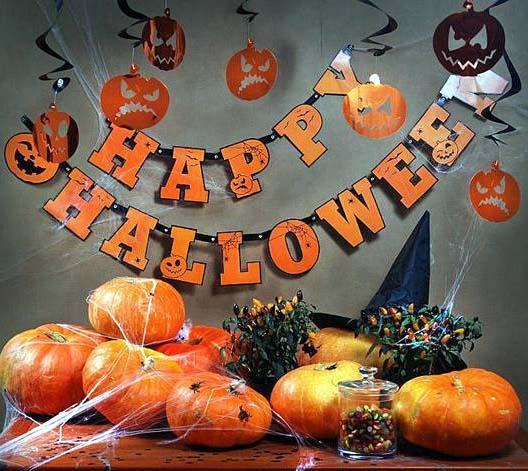 Jak udekorować pokój dziecięcy na Halloween