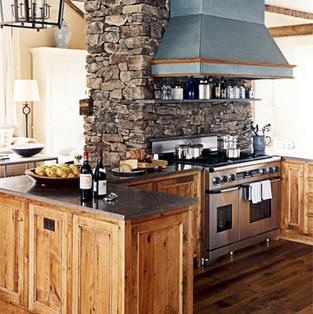 Jak zaaranżować rustykalną kuchnią