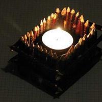 Jak zrobić drewniane świeczniki