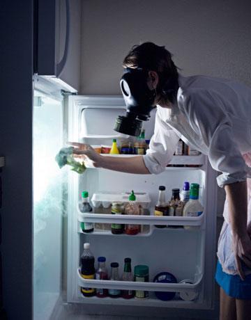 Jak pozbyć się brzydkiego zapachu z lodówki