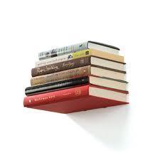 Jak zrobić niewidzialną półkę z książkami