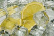 Ciekawostka - Cytrynowe kostki lodu