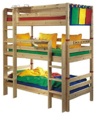 Jak zaaranżować piętrowe łóżko w pokoju
