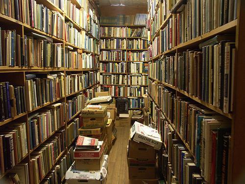 Jak pozbyć się starych książek