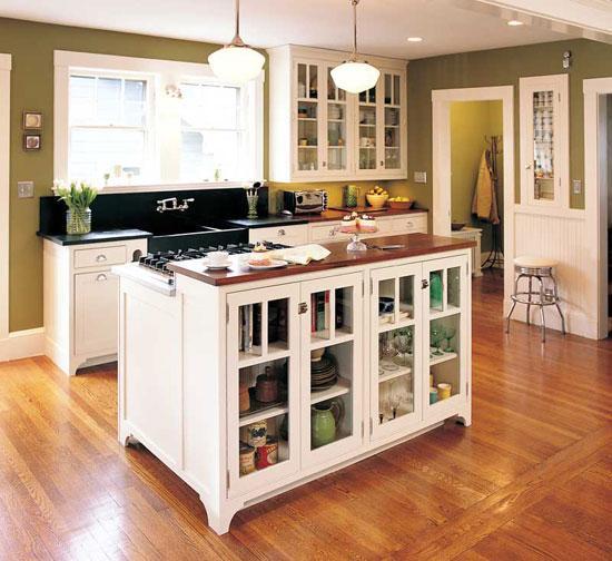 Jak funkcjonować w kuchni z wyspą kuchenną
